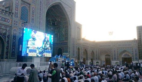 OMDM at Imam Reza shrine
