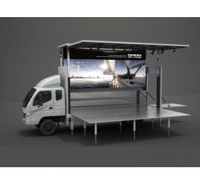 Mobile Stage Truck with LED Screens