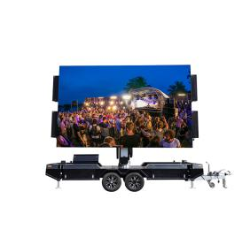 Double Size Screen Led Billboard Trailer