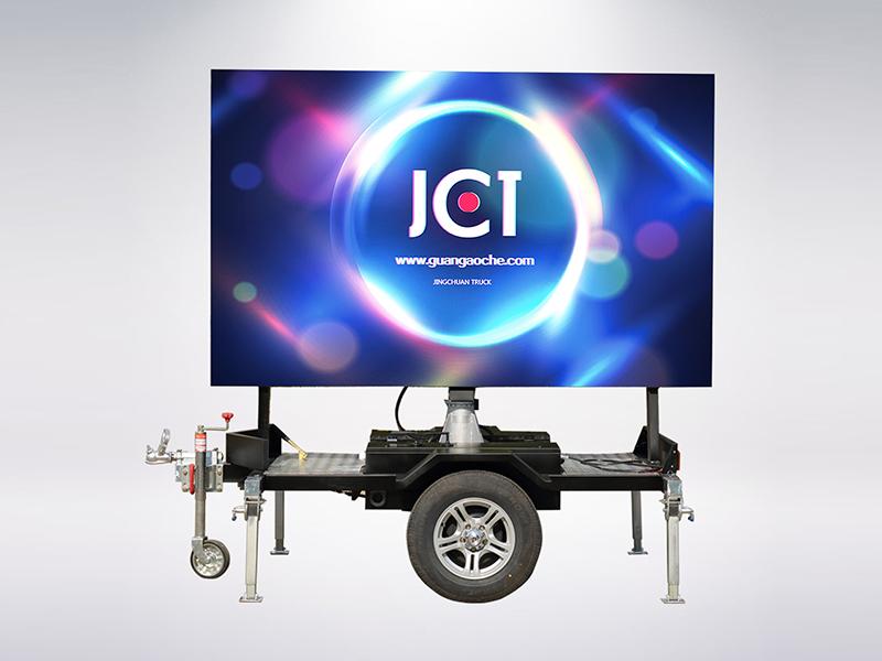 LED mobile trailer