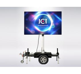 Rotating Mobile LED Trailer