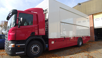 Manufactured Exhibition Trailers